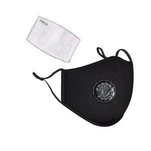Cotton Face mask Reusable Washable Black mask